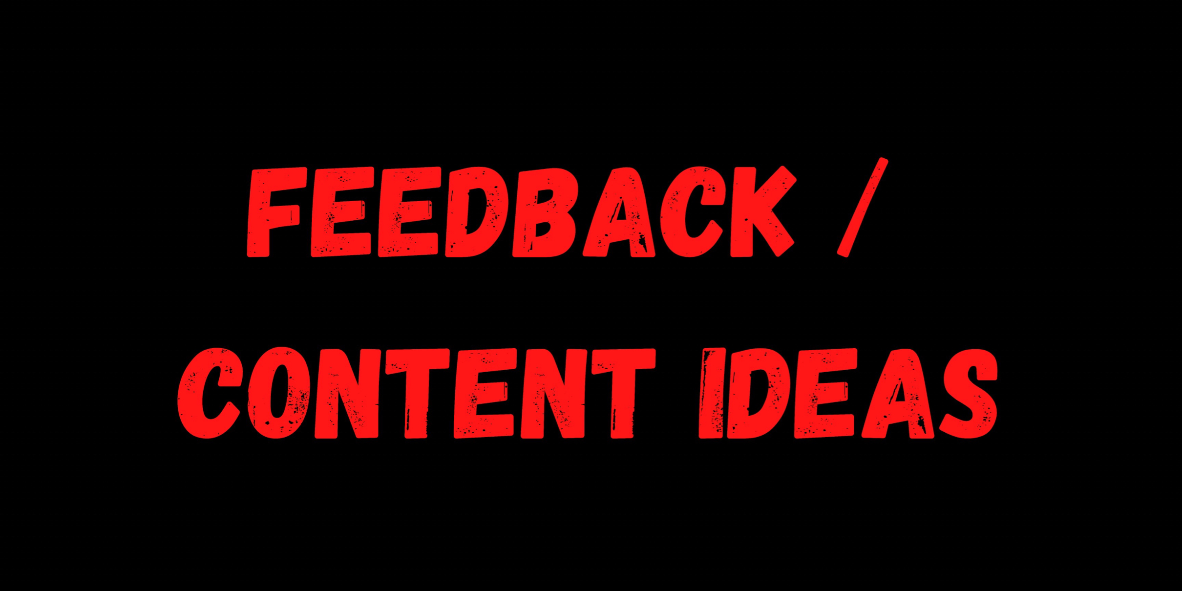 Feedback/ Idea Chat Image